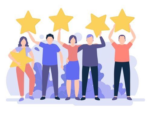 über die 5 ein Stern - Wie Kunden-Feedback zu fördern?
