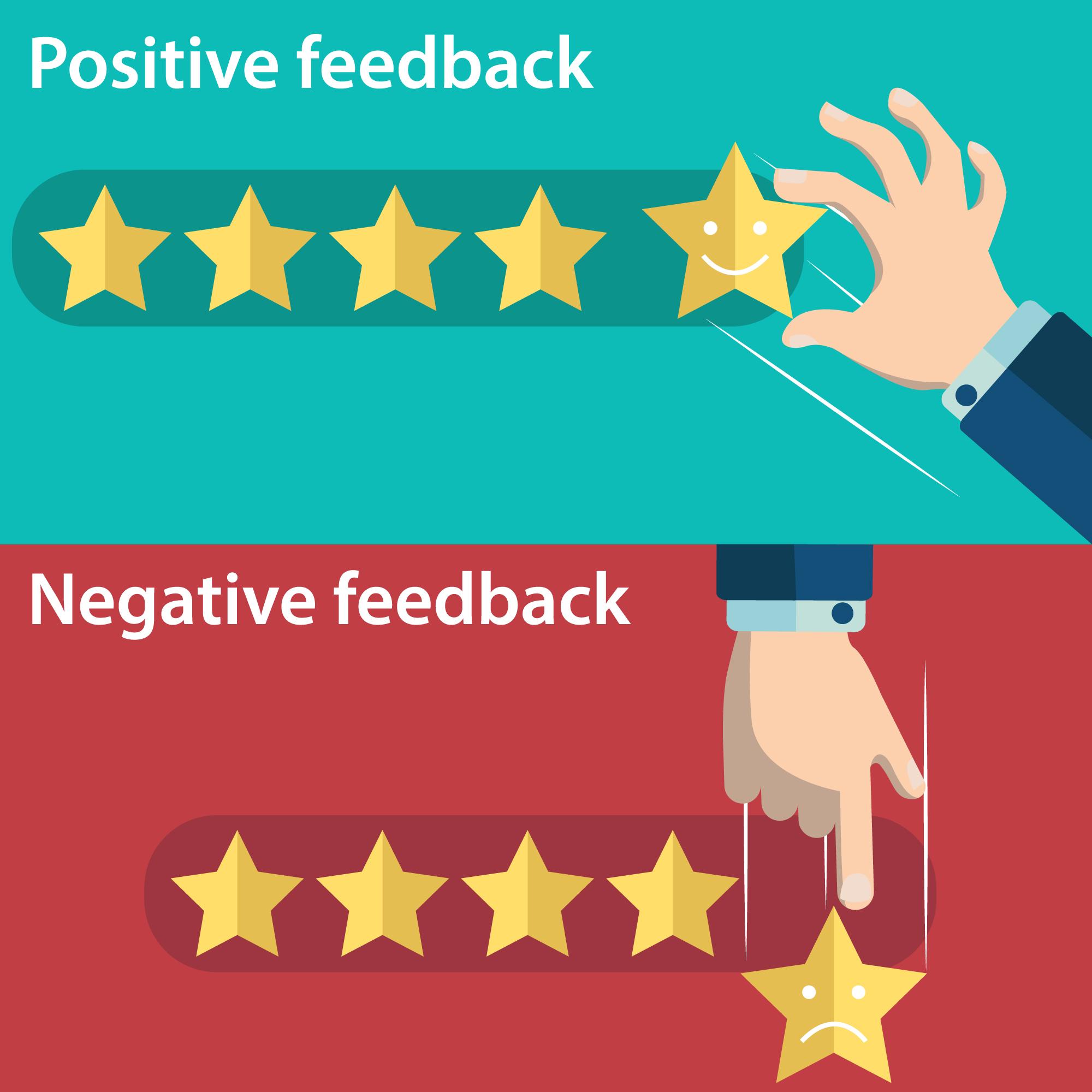 pozitív, negatív vélemény